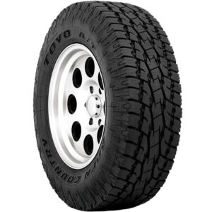 Off road tire for subaru- toyo open country