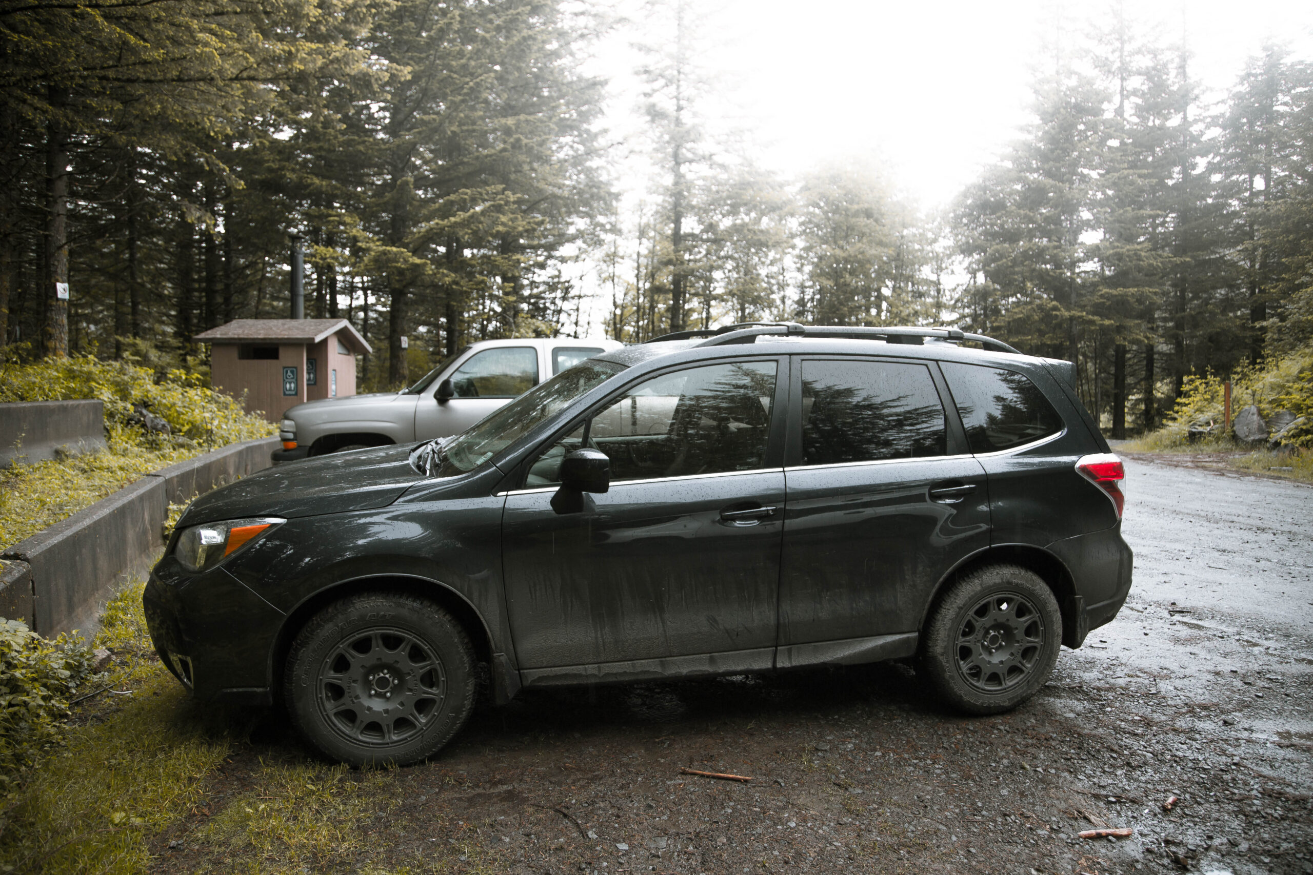 Lifted Subaru Forester on All Terrain Tires and Lift kit