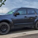 Lifted 2010 subaru forester with off road motegi wheels and all terrain tires