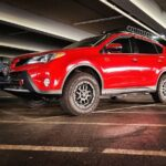 2013-2018 lifted toyota rav4 with off road tires and lift kit