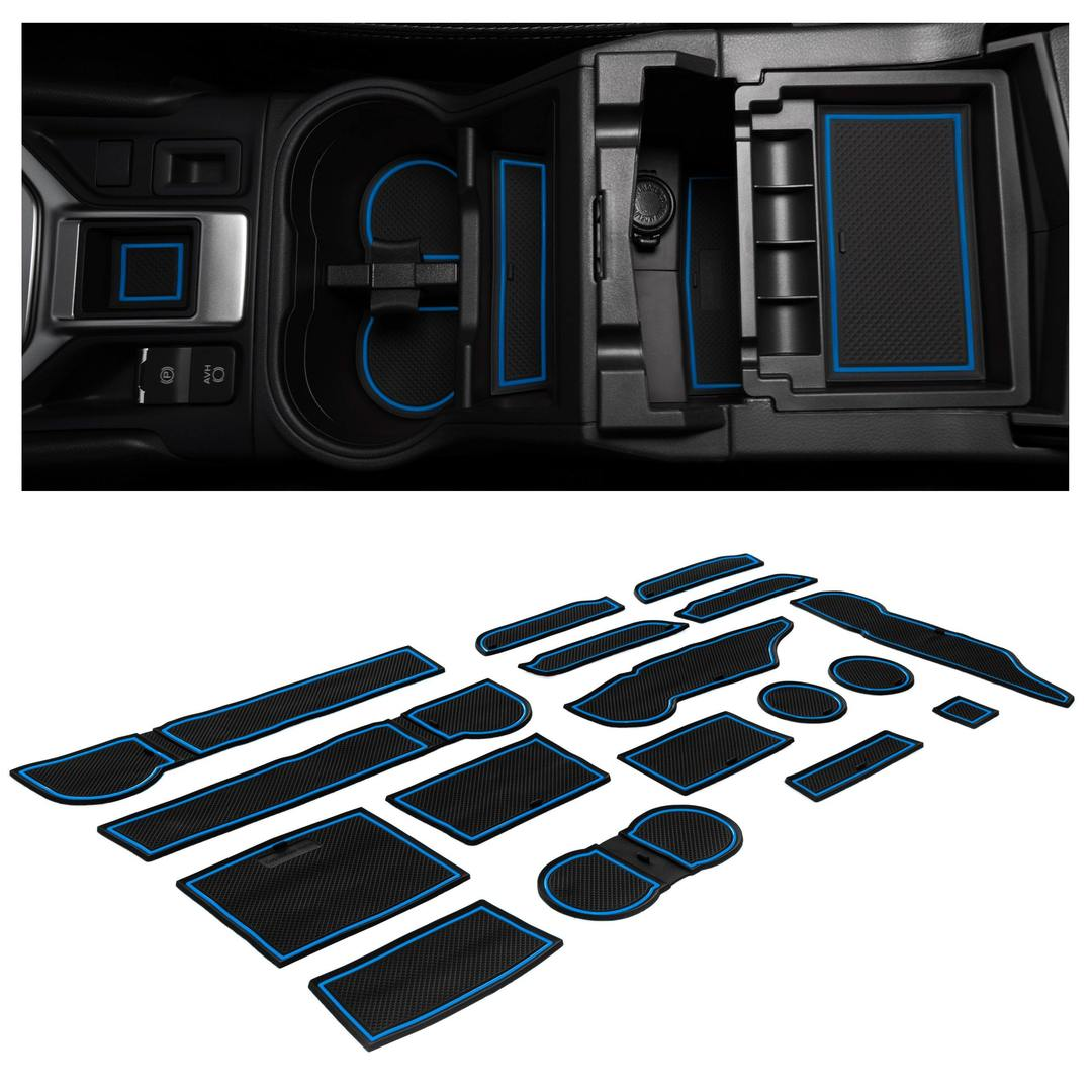 cupholderhero console liners for Subaru Forester accessories